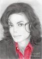 Ebony Eyes  - michael-jackson fan art