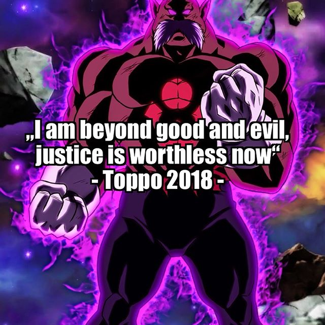 Epic qoute by Toppo