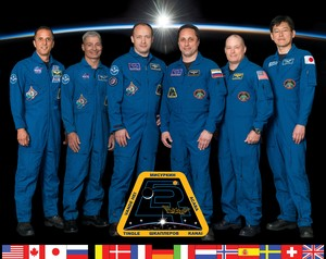Expedition 54 Mission Crew