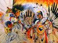 Fire Dancers by Tamara Dalrymple