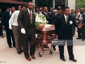 Florence Griffith-Joyner's Funeral In 1998