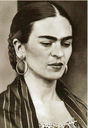 Frida Kahlo de Rivera-Magdalena Carmen Frida Kahlo y Calderón ( July 6, 1907 – July 13, 1954)
