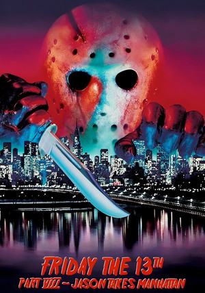 Friday the 13th Part 8: Jason Takes Manhattan Poster