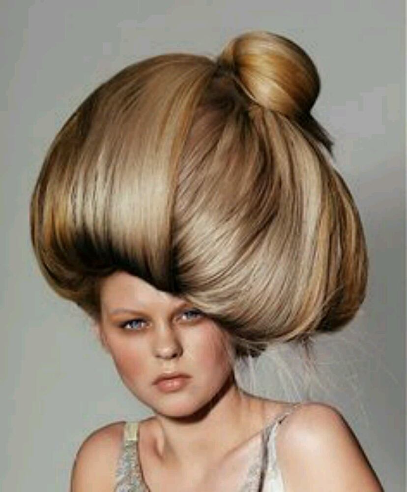 Funny Amazing Hairstyle Girl Picture Awesome Family Foto 41034709