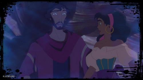 Disney crossover karatasi la kupamba ukuta titled GOD Speaking To Theme