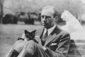 General Robert Wood Johnson And His Cat - cats photo