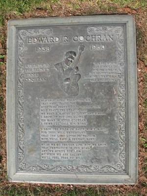 Gravesite Of Eddie Cocharan