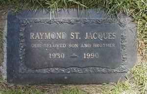 Gravesite Of Raymond St. Jacques