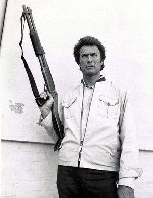 Harry Callahan ~Publicity still for The Enforcer (1976)