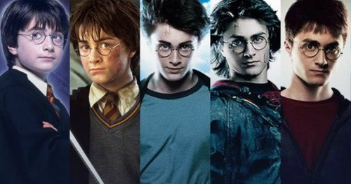 Harry Potter karatasi la kupamba ukuta entitled Harry Potter Why Daniel Radcliffe Was Cast