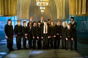 Harry Potter WB F5 DumbledoresArmyGroupImage Promo 080615 Land