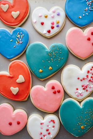 tim, trái tim bánh quy, cookie