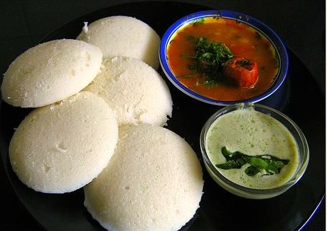 Indian Food wallpaper called IdliChutneySambar