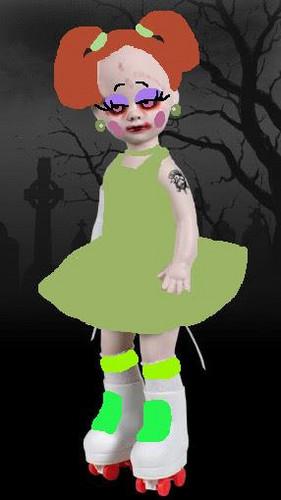 Living Dead Puppen Hintergrund entitled Jace
