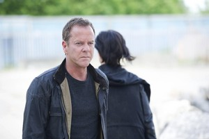 Jack Bauer Kiefer Sutherland Chloe Russians 24 Live Another día Episode 12 Finale Goodbye