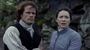 TV-Paare Hintergrund called Jamie and Claire 7