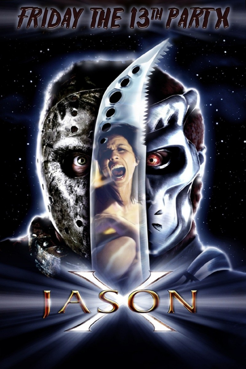 Jason X Poster A Nightmare On Elm Street Vs Friday The 13th