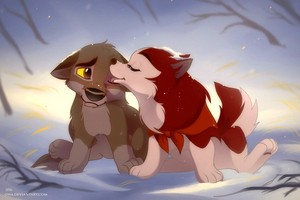 Jenna and Balto Fanart