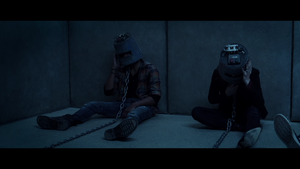 Jigsaw ~ Bucket Room trap