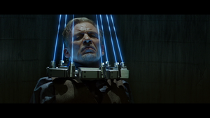 Jigsaw ~ Laser kraag trap