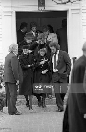 John Belushi's Funeral In 1982