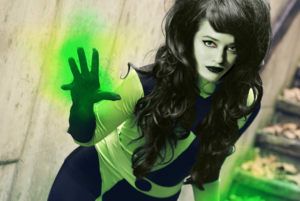 Kat Dennings as Shego (Fan-made)