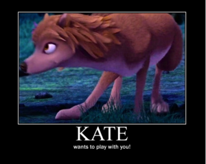 Kate Wants To Play!