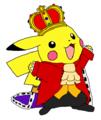 King Pikachu - pokemon fan art