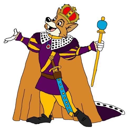Walt Disney's Robin Hood wallpaper titled King Robin Hood
