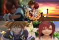 Kingdom Hearts Sora and Kairi Forever