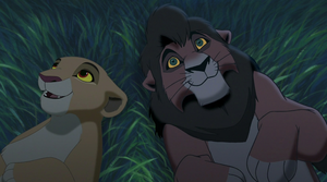 Kovu and Kiara