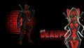 Lady Deadpool Wallpaper Brick Wall 2  - deadpool wallpaper
