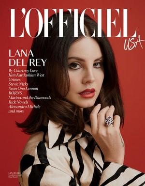 Lana Del Rey | L'Officiel USA | 2018