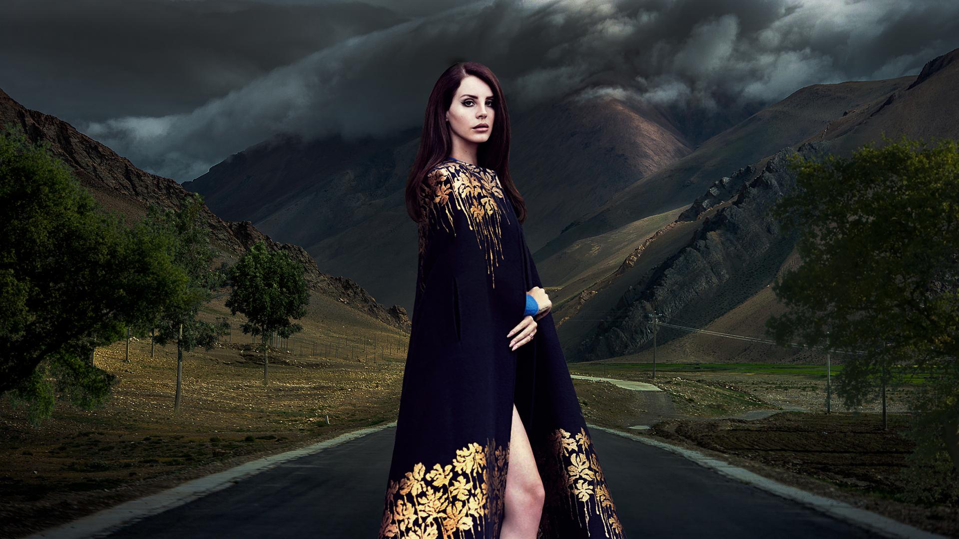 Lana Del Rey mountain wallpaper