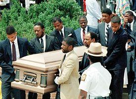 Len Bias' Funeral In 1986