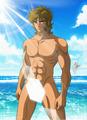 Leo Aiolia(Saint Seiya) - sexy-hot-anime-and-characters fan art