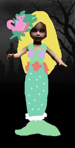 Living Dead Puppen Hintergrund called Lori The Mermaid