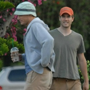 Luke MacFarlane Steps Out with Wentworth Miller27 AUGUST 2007