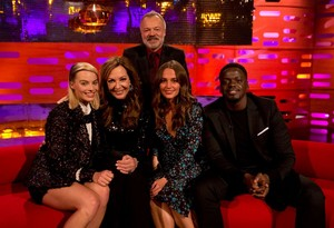 Margot Robbie on The Graham Norton প্রদর্শনী