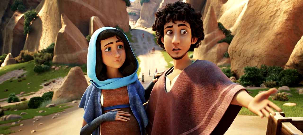 Mary and Joseph in The Star