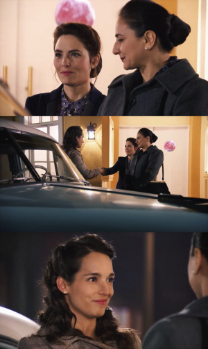 Meeting each other for the very first time A.K.A. Barcedes 101