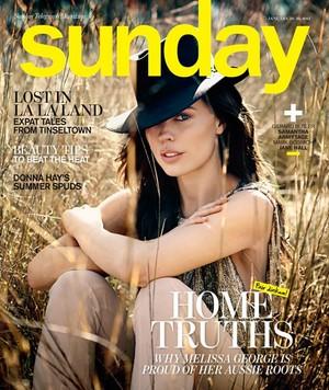 Melissa in Sunday Magazine ~ 2013