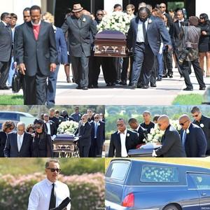 Michael Clarke Duncan's Funeral Back 2012