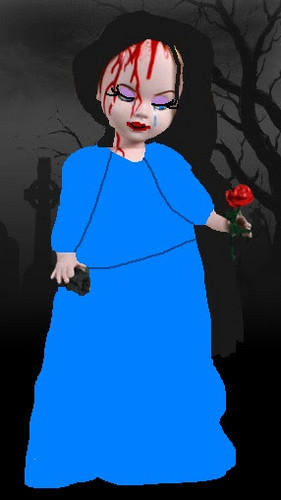 Living Dead mga manika wolpeyper titled Molly The Doll
