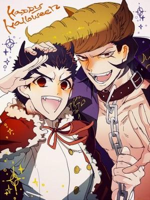 Mondo Oowada and Kiyotaka Ishimaru | Danganronpa