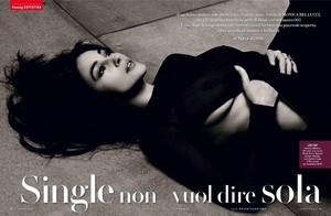 Monica Bellucci for Vanity Fair Italy [December 2014]