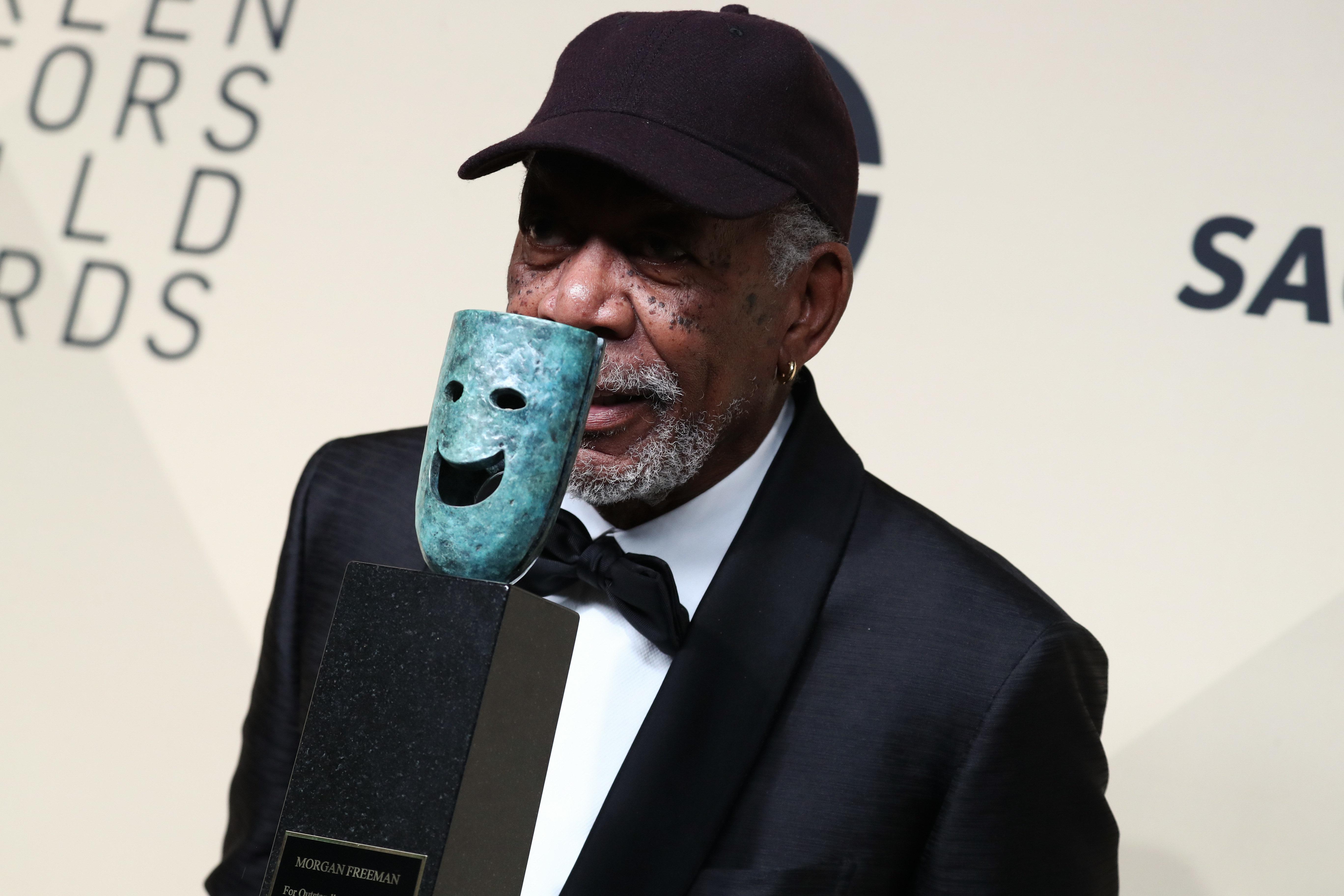 morgan Freeman (2018)