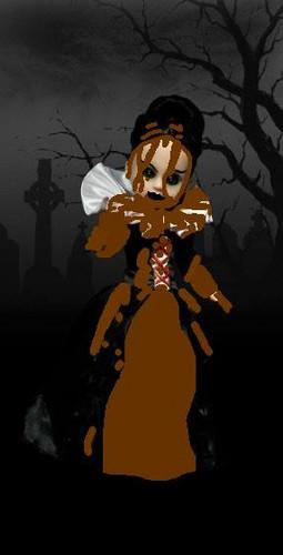 Living Dead Puppen Hintergrund called Mud