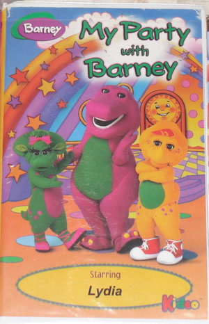 My Party with Barney (1998)