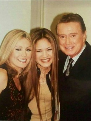 Myra with Regis and Kelly